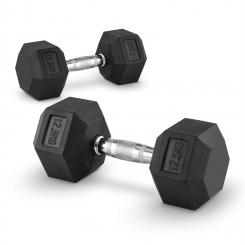 Hexbell Dumbbell Kurzhantel Paar 2x12,5kg 2x 12.5 kg