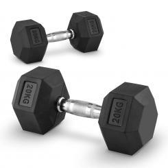 Hexbell Dumbbell Kurzhantel Paar 20kg 2x 20 kg