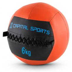Epitomer Set Wall Ball 6kg Kunstleder 5 Stück orange