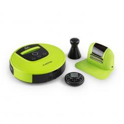 Cleanhero Saugroboter Staubsauger Automatik Fernbedienung grün Grün