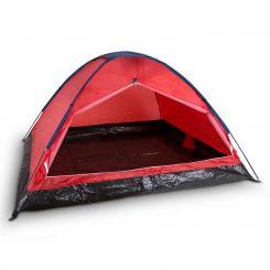 Cenote 4 Campingzelt Kuppelzelt 4 Personen Polyester orange Orange