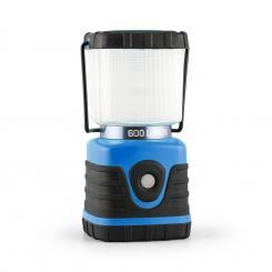 Yapus Campinglaterne LED 600 Lumen 150h 15m Akku eckig blau Blau