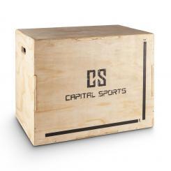 "Shineater Plyo-Box Holz Jump Box 20"" 24"" 30"" Beige"