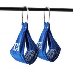 Armlug Ab Slings Armschlaufen Metall-Karabinerhaken max. 120 kg Blau