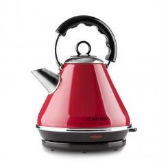 Charlotte II Wasserkocher Teekessel 1,7L 2200W kabellos rot Rot