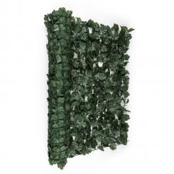 Fency Dark Ivy Sichtschutzzaun Windschutz 300x150 cm Efeu dunkelgrün