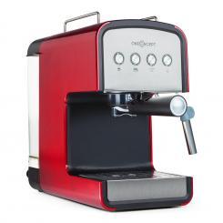 Solari Espressomaschine Siebträger Edelstahl 850W 15 Bar rot