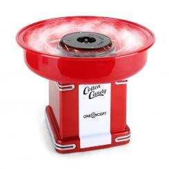 Candyland 2 Retro-Zuckerwattemaschine 500W rot