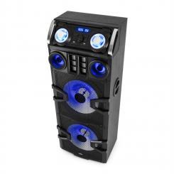Big Party 2500 DJ-Party-Lautsprecher LED Karaoke 240 W RMS