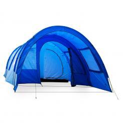 Mozori Tunnelzelt 4 Personen 305x205x475 cm Polyester 5000 mm blau Blau