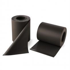Pureview Sichtschutz PVC 2 Rollen 35m x 19cm 60 Klemmen dunkelgrau