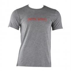 Trainings-T-Shirt für Männer Size XL Grau meliert Grau   XL