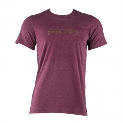 Trainings-T-Shirt für Männer Size S Maroon Lila | S