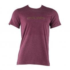 Trainings-T-Shirt für Männer Size L Maroon Lila | L