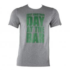 Trainings-T-Shirt für Männer Size M Grau meliert Grau | M