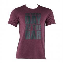 Trainings-T-Shirt für Männer Size XL Maroon Mahagoni | XL