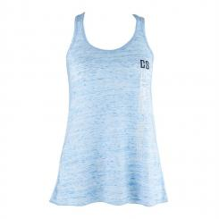 Trainings-Top für Frauen Size L Blau marmoriert Blau | L