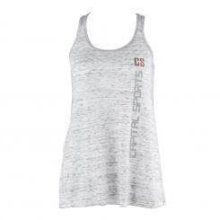 Trainings-Top für Frauen Size XL Weiß marmoriert Weiß | XL