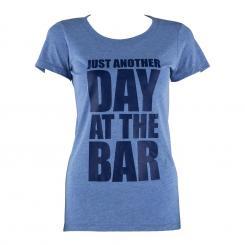 Trainings-T-Shirt für Frauen Size M Blau Tricolor Blau   M