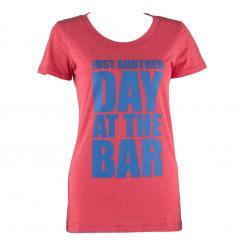 Trainings-T-Shirt für Frauen Size L Rot Rot | L