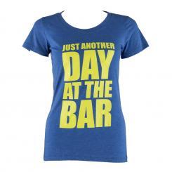 Trainings-T-Shirt für Frauen Size L True Royal L