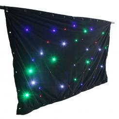 SparkleWall LED-Vorhang LED 36 RGBW 1 x 2 m inkl. Controller Fernbedienung