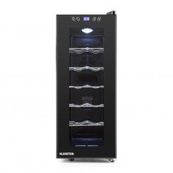 Vinamora Weinkühlschrank 35 Liter 12 Flaschen LED Touch schwarz