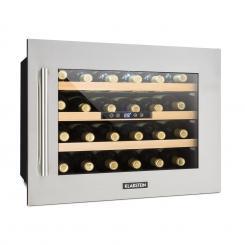 Vinsider 24D Weinkühlschrank Einbau 1 Kühlzone 24 Flaschen Edelstahl