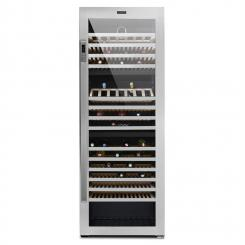 Botella Trium 3-Zonen-Weinkühlschrank 617l Klasse B UV-Glas Edelstahl