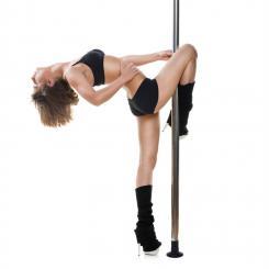 Mandalay Dance Pole Kit Ø 5cm 2,20m-2,60m Edelstahl verchromt