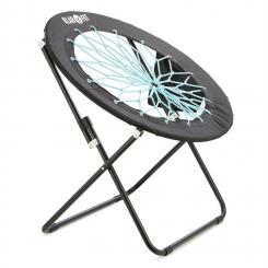 Bounco Bungee Chair Stuhl 81x41/85 cm schwarz/blau