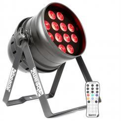 BPP220 LED Par Scheinwerfer 64 12x 12W 4-in-1 LEDs inkl. Fernbedienung