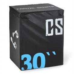 Rooko Soft Jump Box Plyo Box 76x61x51 cm schwarz