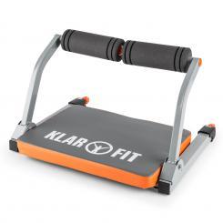 Abhatch AB Core Trainer Bauchmuskeltrainer Allround-Trainer grau/orange Orange