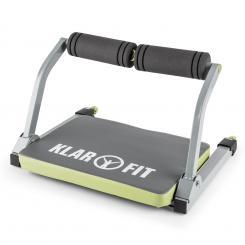 Abhatch AB Core Trainer Bauchmuskeltrainer Allround-Trainer grau/grün Grün