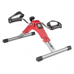 Spinmin Pro Mini Bike Arm- und Bein-Pedaltrainer Display faltbar rot Rot