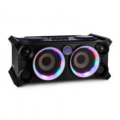 SPLBOX200-BK portables Audiosystem 200W Bluetooth USB/SD Line UKW schwarz