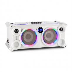 SPLBOX200 portables Audiosystem 200W Bluetooth USB/SD Line UKW LED