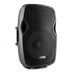 "AP1500ABT MP3 Hi-End Aktiv Lautsprecher Akku 800 W 15"" Bluetooth MIC-IN SD"