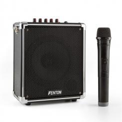 ST040 portables Soundsystem Bluetooth USB microSD MP3 VHF Akku