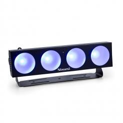 LUCID 1.4 LED-Lichteffekt 4x 9W COB LEDs RGB