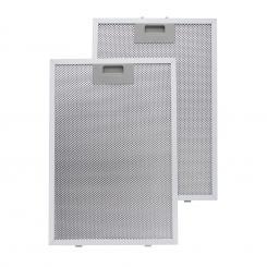 Aluminium-Fettfilter 26 x 37 cm Austauschfilter Ersatzfilter