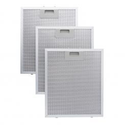 Aluminium-Fettfilter 26 x 32 cm Austauschfilter Ersatzfilter