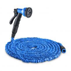 Flex 30 flexibler Gartenschlauch 8 Funktionen 30m blau