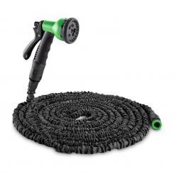 Water Wizrad 22 flexibler Gartenschlauch 8 Funktionen 22,5 m schwarz