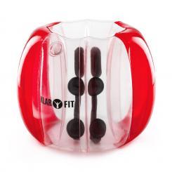 Bubball KR Bubble Ball Blasen-Fußball Kinder 75x110cm EN71P PVC rot