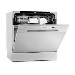 Amazonia 8 Geschirrspülmaschine Mini-Geschirrspüler A+ 1620W silber Silber