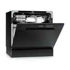 Amazonia 8 Geschirrspülmaschine Mini-Geschirrspüler A+ 1620W schwarz Schwarz
