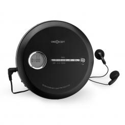 CDC 100 MP3 Discman CD-Player tragbar Antishock ESP Micro-USB schwarz