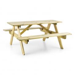 Picknickerchen Kinder-Picknick-Tisch Spieltisch Kiefer-Echtholz